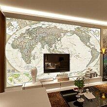 Sproud Europäische Kunst Wandbild World Map Office Studie Hintergrund Tapete Wand 350 Cmx 245 Cm