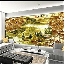 Sproud Exquisite Tapete TV-Kulisse Peony Home dekorative Malerei große Wandbilder für Wohnzimmer 3D Wandbilder Tapeten 300cmx210cm