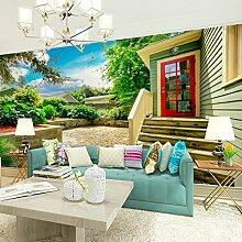 Sproud Nahtlose 3D Stereo Tapete Wohnzimmer Tv Hintergrund Tapete Schlafzimmer Landschaft Große Wandmalereien 200 Cmx 140 Cm