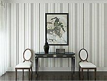 Sproud Normalpapier gestreifte Tapete im mediterranen Stil Gestreifte Schlafzimmer Wohnzimmer Fernseher Sofa Hintergrundbild 350 cmX 245 cm