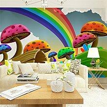 Sproud Papel De Parede grüne Tapete Wohnzimmer Sofa Tv Hintergrund Tapete Kinder Wandbilder 300cmx210cm