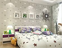 Sproud Seidentuch atmungsaktiv Wallpaper warme Kinder- Schlafzimmer Schlafzimmer Tapete niedlichen rosa Erdbeere Fallschirm 250 cmX 175 cm