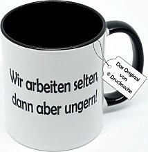 Spruchtasse Büro Funtasse Kaffeebecher