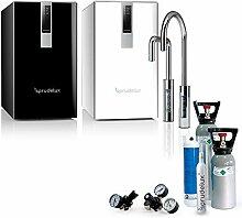 SPRUDELUX® Untertisch-Tafelwasseranlage Black &