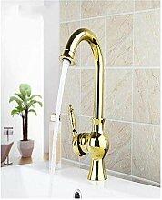 Spüle Wasserhahn Golden Rotary Spray