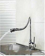 Spüle Wasserhahn Küchenarmatur Chrom poliert