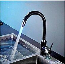 Spüle Wasserhahn Küchenarmatur mit LED-Licht