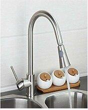 Spüle Wasserhahn Nickelbürste Küchenarmatur