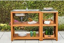 Spültisch Ashim mit Sideboard Garten Living