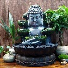 SPYXGS Kreative Chinesische Buddha Statuen Wasser