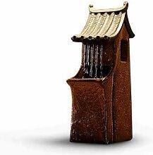 SPYXGS Kreative Wasser Dekoration Brunnen Feng