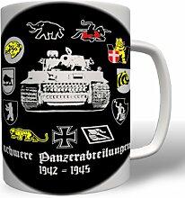 sPzAbt Schwere Panzer Abteilung - Tasse Becher Kaffee #2949