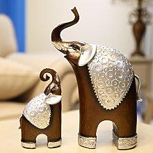 SQBJ Studie im Wohnzimmer bibelot Wein Zubehör Heimtextilien Elefant creative soft Dekoration Harz Handwerk Ornamente cabine