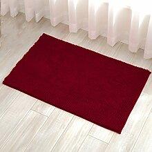 SQINNA Chenille anti-rutsch badezimmer teppich