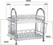 SQL 304 Edelstahl Küche Geschirrablage drain