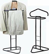 SQL Rohrgestell Anzug Kleiderbügel Schlafzimmerboden Kleiderständer Kleidungsstück Dampfer . black
