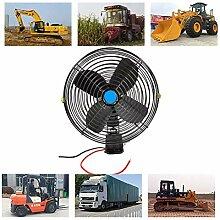 SRFDD Auto-Ventilator 12V Elektroauto-Ventilator,