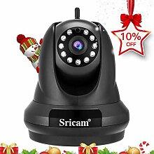 Sricam SP018 Überwachungskamera für Haus, WLAN,