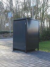 Srm-Design 1 Mülltonnenbox ohne Stanzung für 120