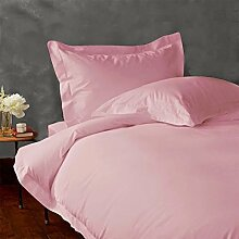 """SRP Linen 500-Thread-Count Super Soft Extra Deep Pocket Sheet Set Queen Solid Baby Pink/Soft Pink Fit Up to 16"""" inches Deep Pocket With Stain and Wrinkle Resistant by SRP Linen"""