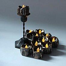 SSBOY LED Kerze, Teelichter Elektrisch LED kerzen,