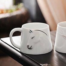 SSBY China Bleibt Ein Becher Handbemalte Tasse Kaffee Saft Milch Der Keramik-LiebhaberEin