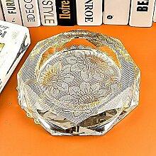 ssby Crystal Aschenbecher Fashion Personalisierte Geschenk Aschenbecher Praktisches Wohnzimmer Dekoration 30cm