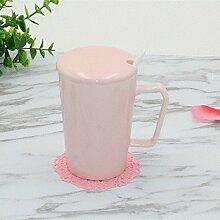 SSBY Die Keramik-Becher Mit Decken Ein Paar Frühstück Tasse Milch Tasse Kaffee BüroB