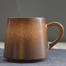 SSBY Kreative Retro - Keramik - Kaffee Einfache Matte - Becher Japanische Paare Persönlichkeit KaffeeE