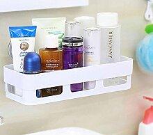 SSBY Moderne Badezimmerregale montiert Saugnapf Toiletten Toiletten Sanitär Kosmetik Lagerregal