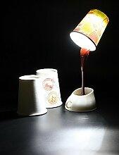 SSBY Tischlampe im Kaffee Becher Design