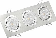 SSC-LUXon® 3-fach LED Einbau-Strahler QF-2.3