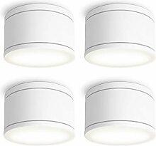 SSC-LUXon CELI-WX 4er Set flache LED Deckenspots