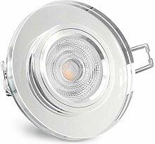 SSC-LUXon® Glas Einbaustrahler LED rund aus