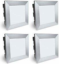 SSC-LUXon Piko-LQ Wandeinbauleuchte LED aussen 4er