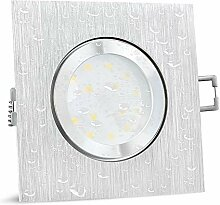SSC-LUXon QW-2 Einbaustrahler LED dimmbar flach