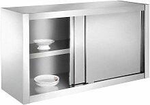 SSC120 Küchenschrank, Hängeschrank aus Edelstahl