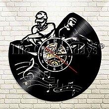 SSCLOCK 1 Stück DJ Plattenspieler Mixer LP