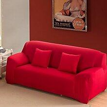 SSDLRSF Einfarbig Stretch Sofabezug Elastischer