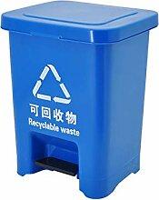 SSHHI Profil-Mülleimer, quadratisch mit Deckel