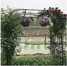 SSHHM Metall Gartenbogen Gartenlaube aus,30 cm