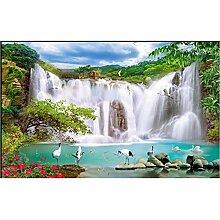 Sshssh Moderne Tapete Wasserfall Landschaft Tapete