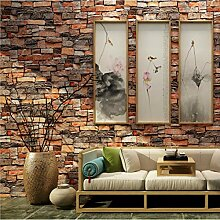 Sshssh Vintage Stein Ziegelstein Tapete Für