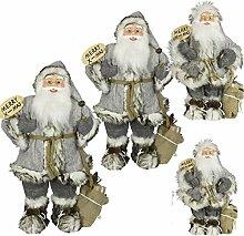 SSITG 1pc 45cm Weihnachtsmann Deko Weihnachts Nikolaus Santa Clause Figur Groß Weihnachts (Lieferzeit ist 3-7 Tagen)