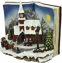 SSITG LED Bilderbuchträume Weihnachtskirche