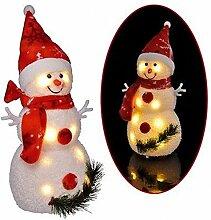 SSITG LED Dekorativer Schneemann Weihnachtsdeko
