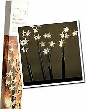 SSITG LED Leuchtstäbe Balkon Garten Dekoration