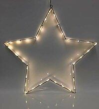 SSITG LED Silhouette Tannenbaum Stern Komet