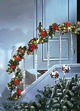 SSITG Leuchtende Weihnachtsgirlande Tannengirlande