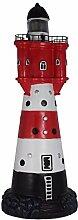 SSITG Leuchtturm 50 cm Roter Sand Solar für den